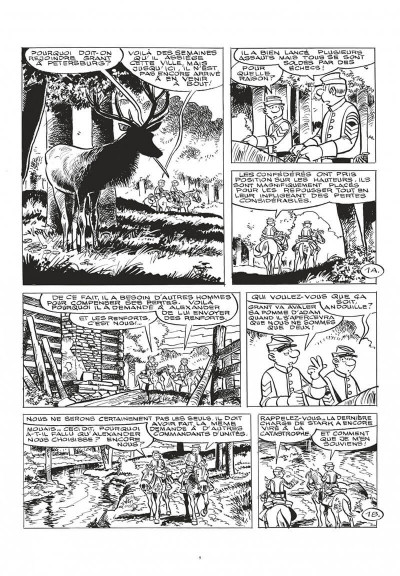 Page 9 Les tuniques bleues - grand format n&b tome 63