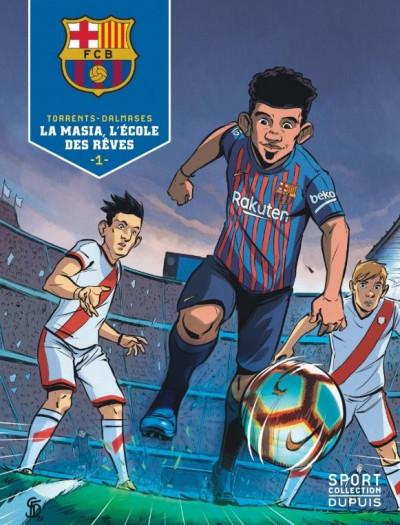 Couverture FC Barcelone tome 1