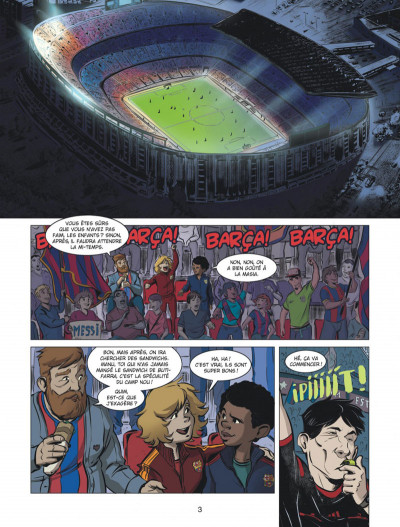 Page 3 FC Barcelone tome 1
