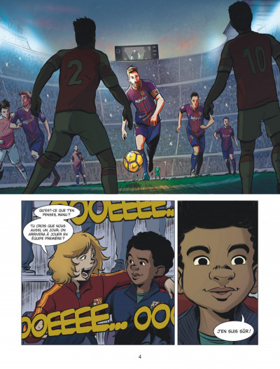 Page 4 FC Barcelone tome 1