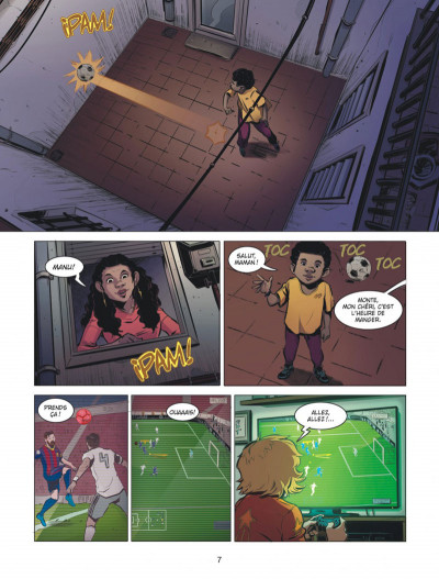 Page 7 FC Barcelone tome 1