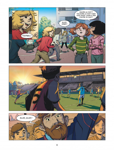 Page 9 FC Barcelone tome 1
