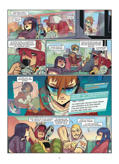 Page 7 Magic 7 tome 9