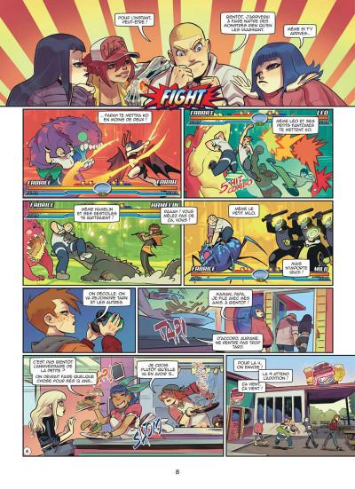 Page 8 Magic 7 tome 9