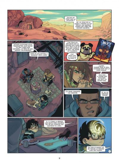 Page 9 Magic 7 tome 9