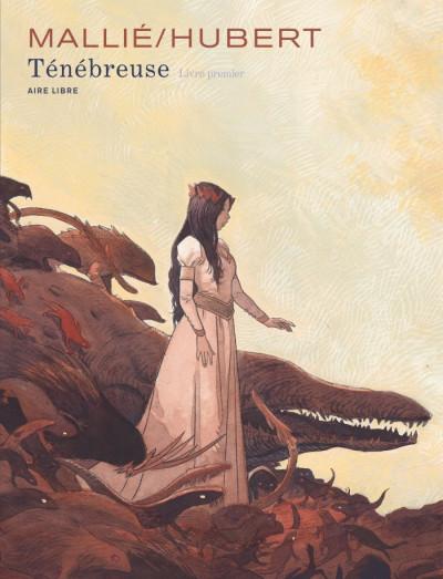 Couverture Ténébreuse tome 1 + ex-libris offert