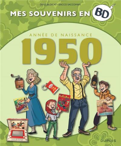 Couverture mes souvenirs en BD T.11 - 1950