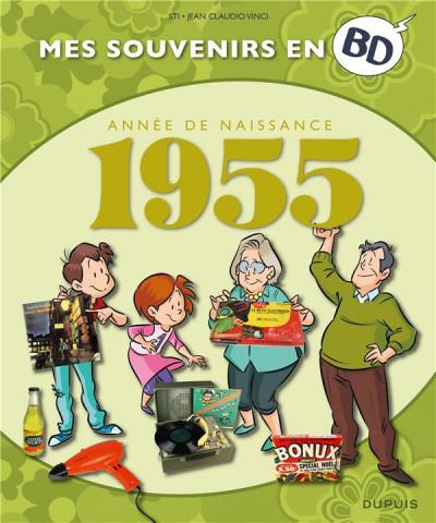 Couverture Mes souvenirs en BD tome 16 - 1955