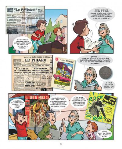 Page 5 Mes souvenirs en BD tome 16 - 1955