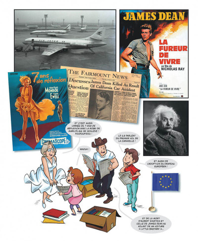 Page 6 Mes souvenirs en BD tome 16 - 1955