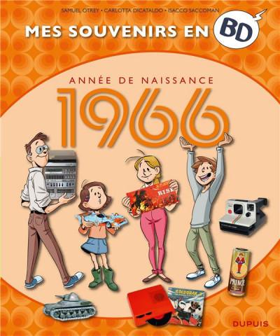Couverture Mes souvenirs en BD tome 27 - 1966