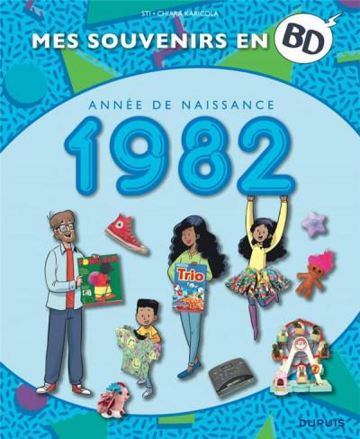 Couverture mes souvenirs en BD T.43 - 1982