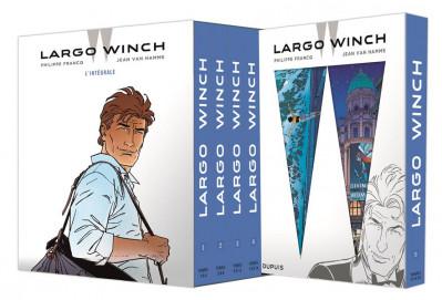 Couverture Largo Winch - intégrale Le Figaro sous coffret