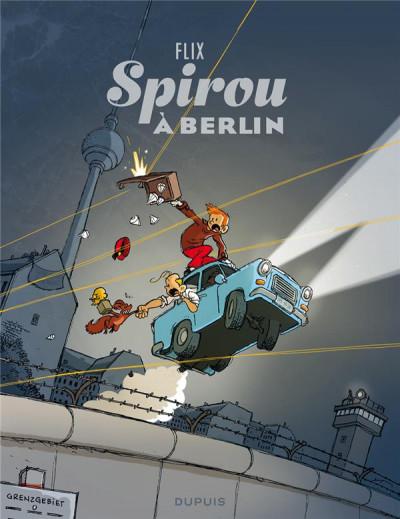 Couverture Spirou à Berlin + ex-libris offert