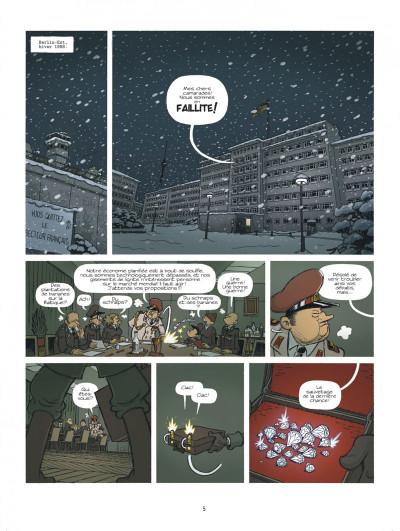 Page 5 Spirou à Berlin + ex-libris offert