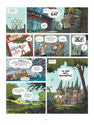 Page 6 Spirou à Berlin + ex-libris offert