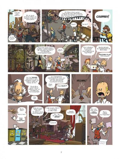 Page 7 Spirou à Berlin + ex-libris offert