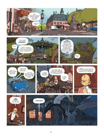 Page 8 Spirou à Berlin + ex-libris offert