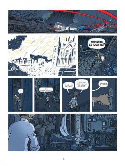 Page 9 Spirou à Berlin + ex-libris offert