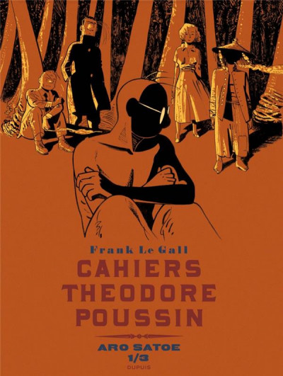 Couverture Les cahiers de Théodore Poussin tome 5