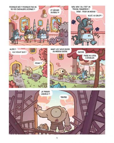 Page 4 Lolicornes tome 1
