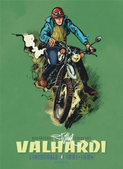 Couverture Valhardi - intégrale tome 6