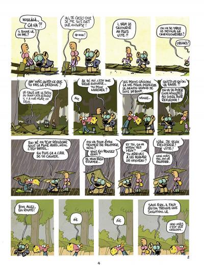 Page 4 Les cavaliers de l'apocadispe tome 3