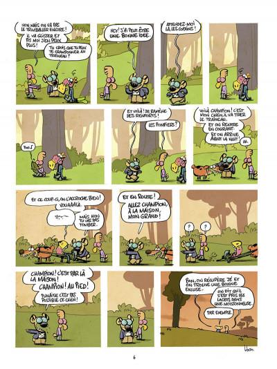 Page 6 Les cavaliers de l'apocadispe tome 3