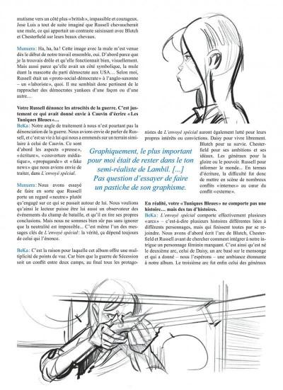Page 3 Les tuniques bleues tome 65