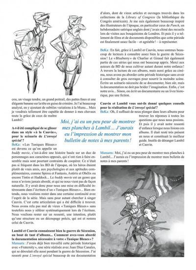 Page 5 Les tuniques bleues tome 65