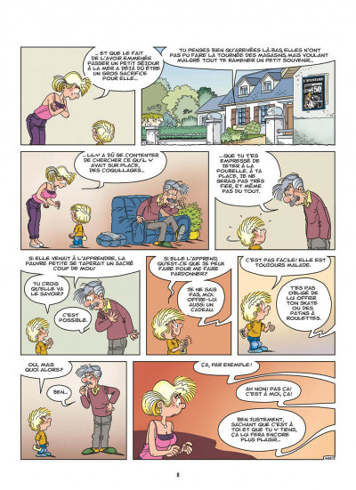 Page 8 Cédric tome 34