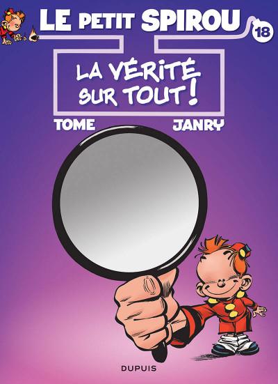 Couverture Le Petit Spirou tome 18 (bis)