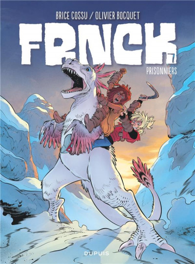 Couverture Frnck tome 7