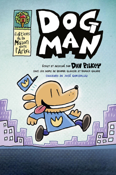 Page 1 Dog man tome 1