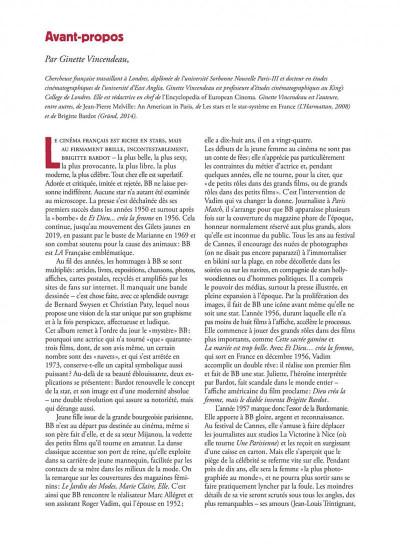 Page 3 Les étoiles de l'histoire tome 3 - Brigitte Bardot
