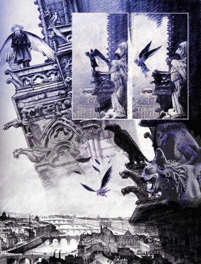 Page 8 Mademoiselle Baudelaire + ex-libris offert