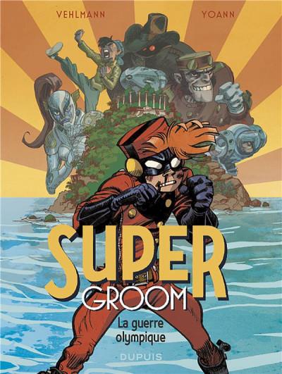 Couverture Supergroom tome 2 + ex-libris offert