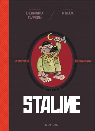 Couverture La véritable histoire vraie tome 7 - Staline