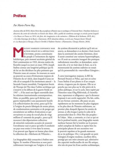 Page 3 La véritable histoire vraie tome 7 - Staline