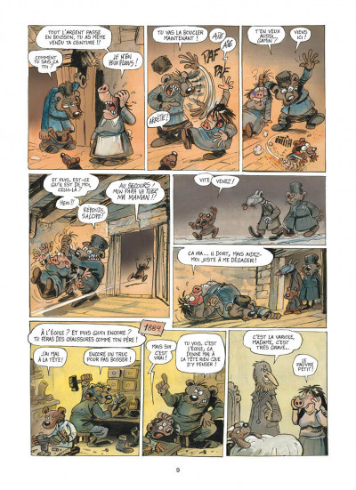Page 9 La véritable histoire vraie tome 7 - Staline