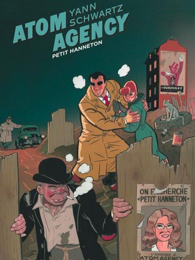Couverture Atom agency tome 2 - Petit hanneton (édition spéciale)