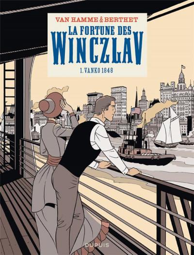Couverture La fortune des Winczlav tome 1