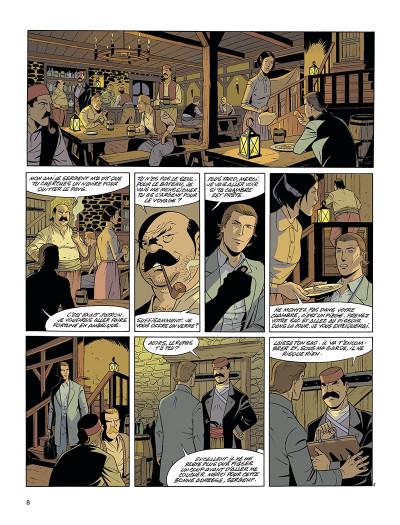 Page 8 La fortune des Winczlav tome 1