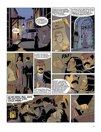 Page 9 La fortune des Winczlav tome 1