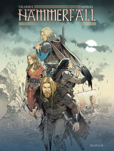 Couverture Hammerfall - intégrale