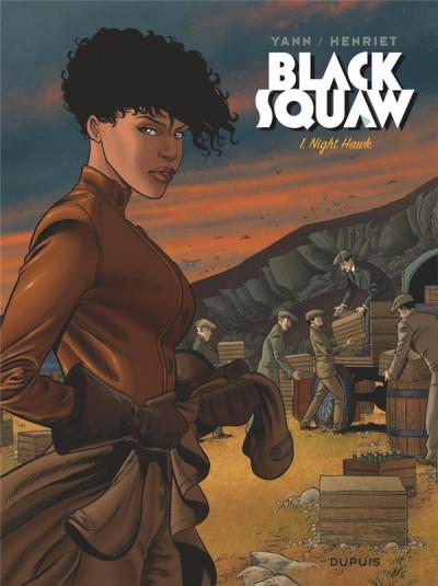 Couverture Black squaw (édition spéciale) tome 1