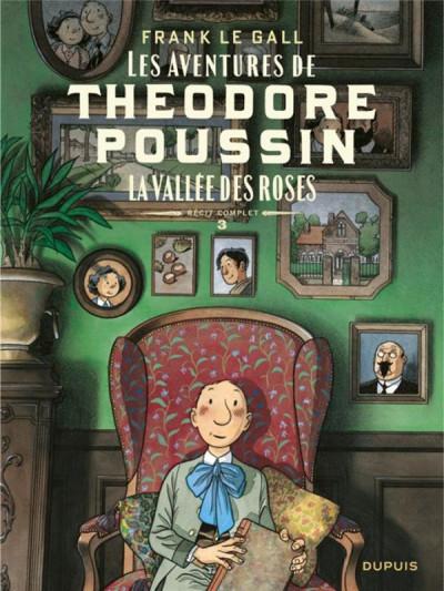 Couverture Théodore Poussin - récits complets tome 3