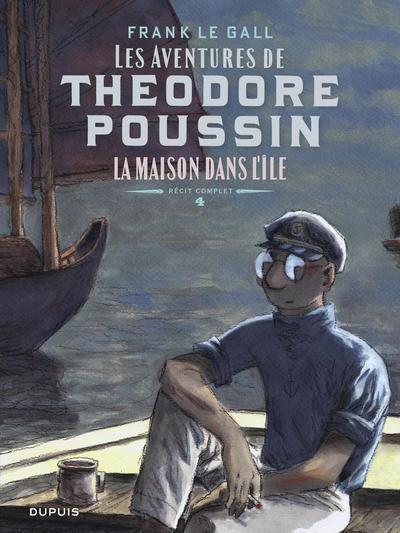 Couverture Théodore Poussin - récits complets tome 4