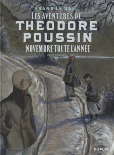 Couverture Théodore Poussin - récits complets tome 6
