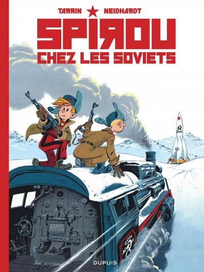 Couverture Spirou chez les Soviets (éd. spéciale)